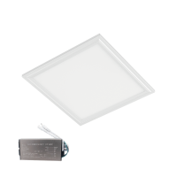 LED PANEL 48W 6400K 595x595mm IP44 WHITE FRAME +EMERGENCY KIT