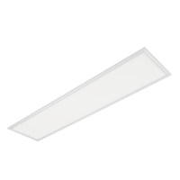 LED PANEL 48W 4000K 295x1195mm IP44 WHITE FRAME