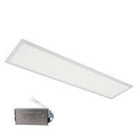STELAR LED PANEL 48W 4000K 295x1195mm WHITE FRAME +EMERGENCY KIT