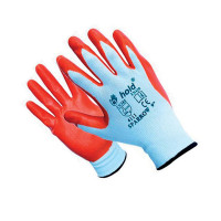 WORK GLOVES SPARROW WHITE/RED